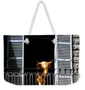 Golden Bull Weekender Tote Bag