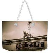 Golden Burro Cafe 2 Weekender Tote Bag