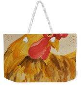 Golden Chicken Weekender Tote Bag