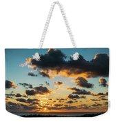 Golden Cloud Sunrise Delray Beach Florida Weekender Tote Bag
