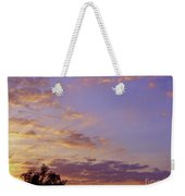 Golden Clouds At Sunset Weekender Tote Bag