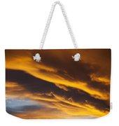 Golden Clouds Weekender Tote Bag by Garry Gay