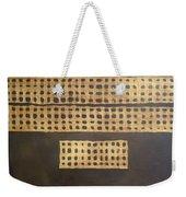 Golden Coin Number 3 Weekender Tote Bag