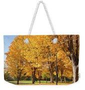 Golden Colors In Autumn Bellavista Park Oregon. Weekender Tote Bag