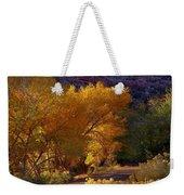 Golden Cottonwoods Weekender Tote Bag
