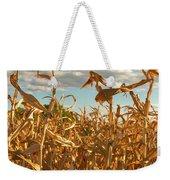 Golden Crop Weekender Tote Bag