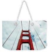 Golden Crossing - Golden Gate Bridge San Francisco Weekender Tote Bag