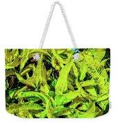 Golden Croton Weekender Tote Bag