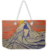Golden Dawn On Matterhorn Weekender Tote Bag
