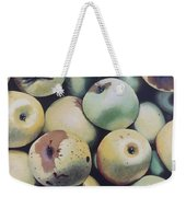 Golden Delicious Weekender Tote Bag