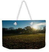 Golden Dew Autumn Sunrise Weekender Tote Bag