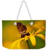 Golden Dreams Of A Summer Garden Weekender Tote Bag