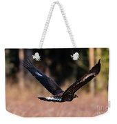 Golden Eagle Flying Weekender Tote Bag