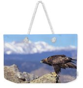 Golden Eagle Weekender Tote Bag