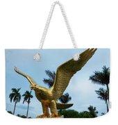 Golden Eagle Take Off Weekender Tote Bag