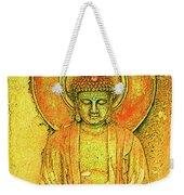 Golden Enlightenment Weekender Tote Bag