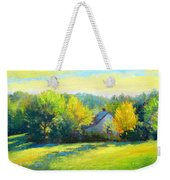 Golden Evening Weekender Tote Bag