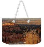 Golden Evening Light Bryce Canyon 1 Weekender Tote Bag