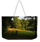 Golden Evening Light Weekender Tote Bag