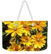 Golden Eyed Susans Weekender Tote Bag