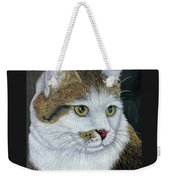 Golden Eyes Weekender Tote Bag