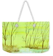 Golden Fall Day  Weekender Tote Bag