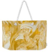 Golden Flow Weekender Tote Bag