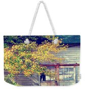 Golden Fall Foliage  Weekender Tote Bag