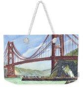 Golden Gate Bridge From Fort Baker, Ca Weekender Tote Bag