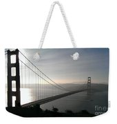 Golden Gate Bridge From Marin County Weekender Tote Bag