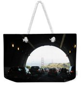 Golden Gate Bridge From Tunnel Weekender Tote Bag