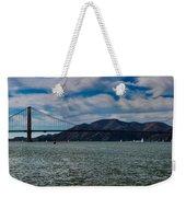 Golden Gate Bridge Panoramic Weekender Tote Bag
