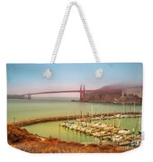 Golden Gate Bridge Sausalito Weekender Tote Bag