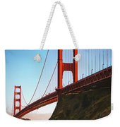 Golden Gate Bridge Sausalito Weekender Tote Bag by Doug Sturgess