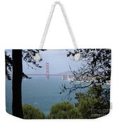 Golden Gate Bridge Through The Trees Weekender Tote Bag