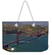 Golden Gate Weekender Tote Bag by Donna Blackhall