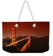 Golden Gate Evening Weekender Tote Bag