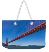 Golden Gate From The Bay Weekender Tote Bag