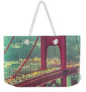 Golden Gate Portrait Weekender Tote Bag