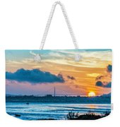 Golden Gate Sunset Weekender Tote Bag