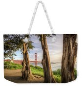 The Trees Of The Golden Gate Weekender Tote Bag