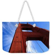 Golden Gate Tower Weekender Tote Bag