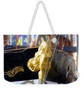 Golden Girl Of Gasparilla Weekender Tote Bag