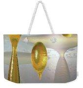 Golden Globs Weekender Tote Bag