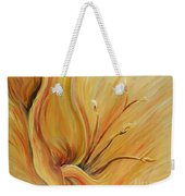Golden Glow Weekender Tote Bag by Nadine Rippelmeyer