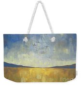 Golden Glow Weekender Tote Bag