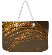 Golden Grass Weekender Tote Bag