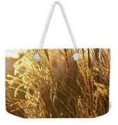 Golden Grass In Sunset Weekender Tote Bag