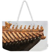 Golden Guardians Of The Forbidden City Weekender Tote Bag
