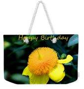 Golden Guinea Happy Birthday Weekender Tote Bag